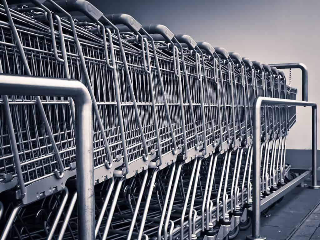 How to attach car seat to a shopping cart