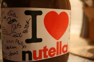 nutella while pregnant