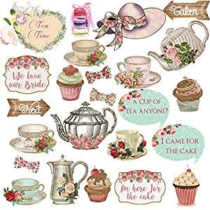 baby shower tea party favors